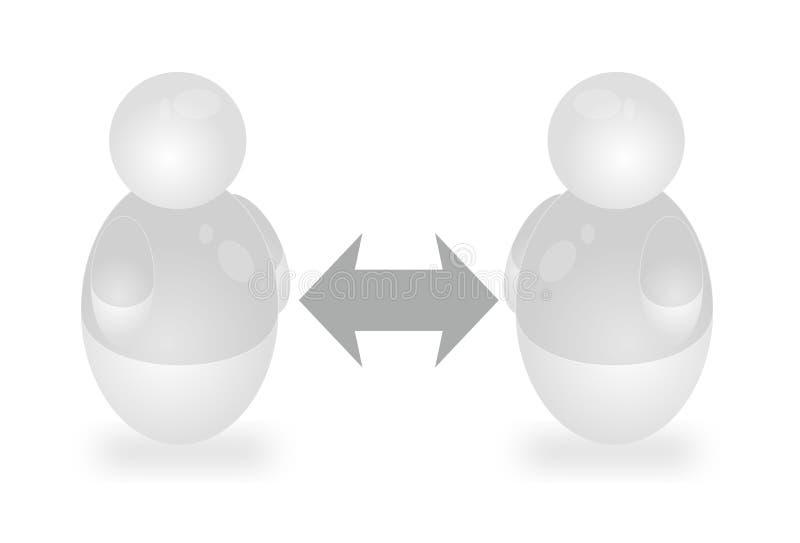 Discussão ilustração do vetor