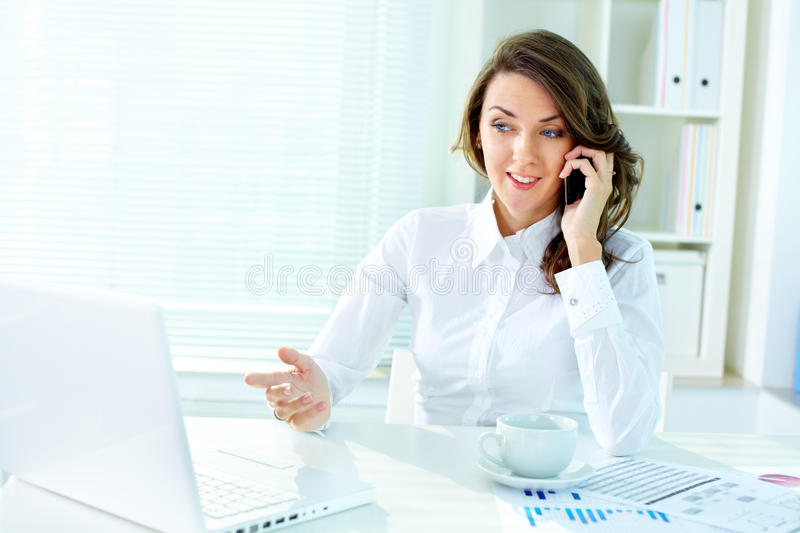 Download Discussing business stock image. Image of caucasian, client - 26269285