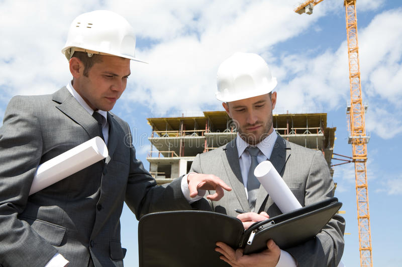 Download Discussing new project stock photo. Image of contract - 10336812