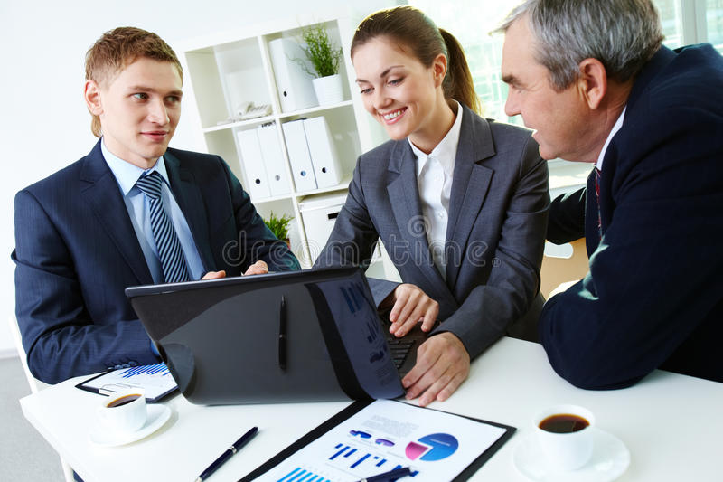Download Discussing Project Stock Photos - Image: 25443163
