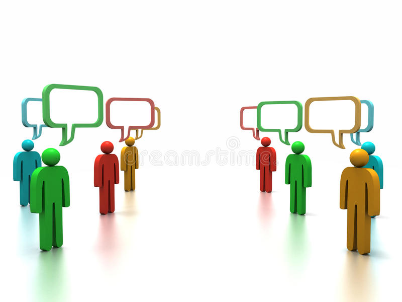 Discussion royalty free stock photo