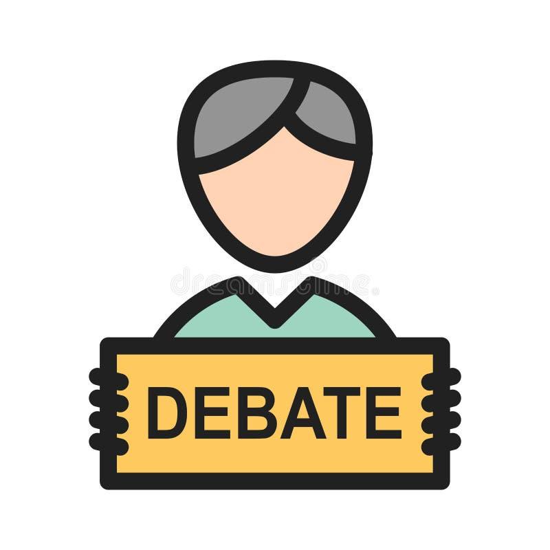discussion illustration libre de droits