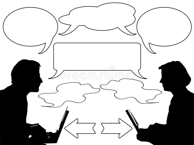 Download Discussion And Communication Stock Vector - Image: 13196923