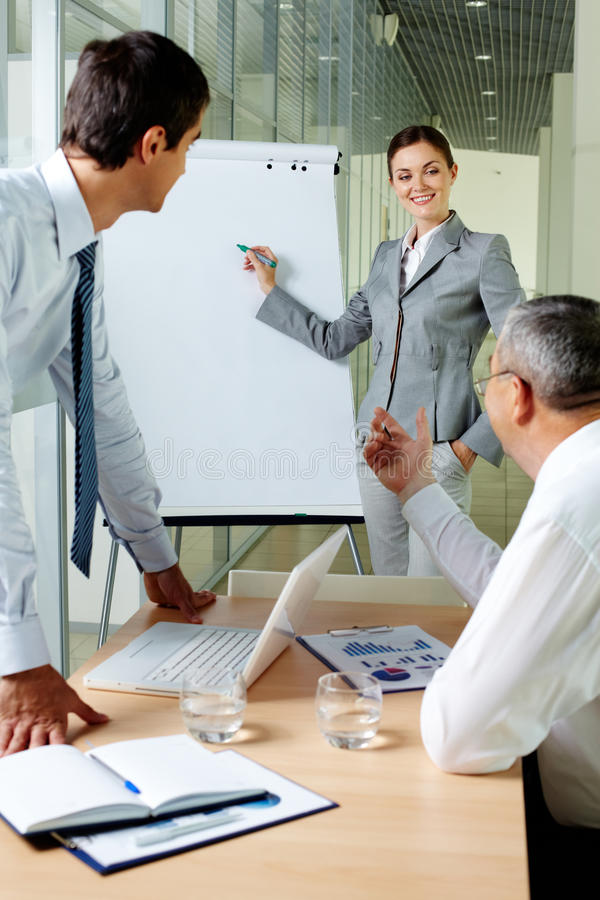 Discussion Moment Royalty Free Stock Image