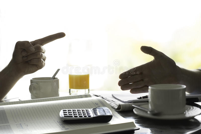 Discussion about money. Figuring out finances. Figuring out finances, brainstorm their budget stock images