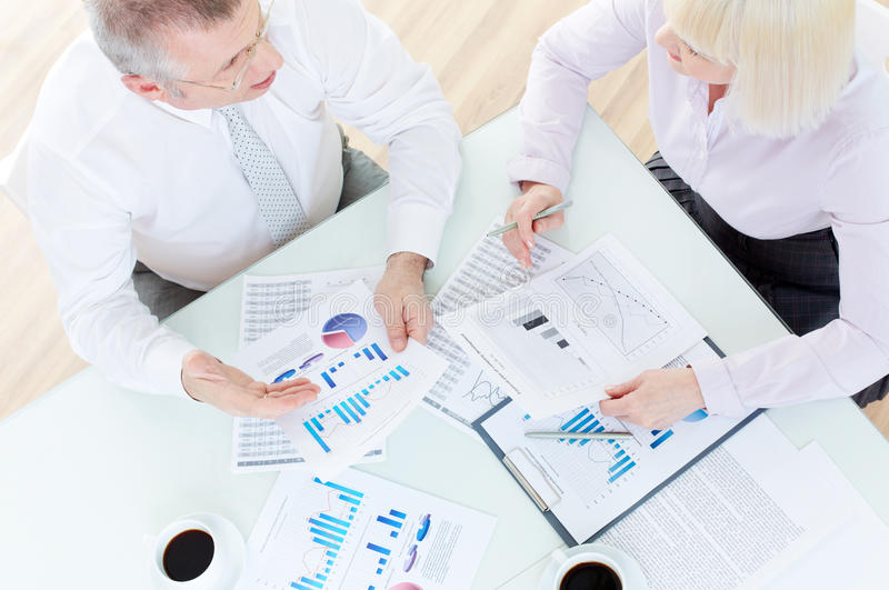 Download Discussion of papers stock photo. Image of idea, businessman - 33379936