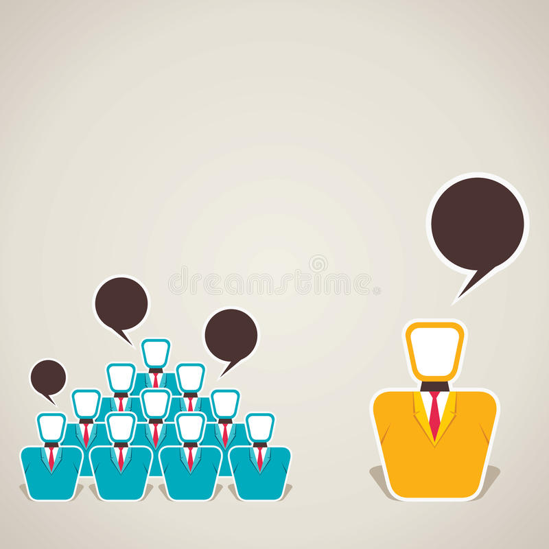 Download Discussion Between Team And Leader Royalty Free Stock Photo - Image: 32616185