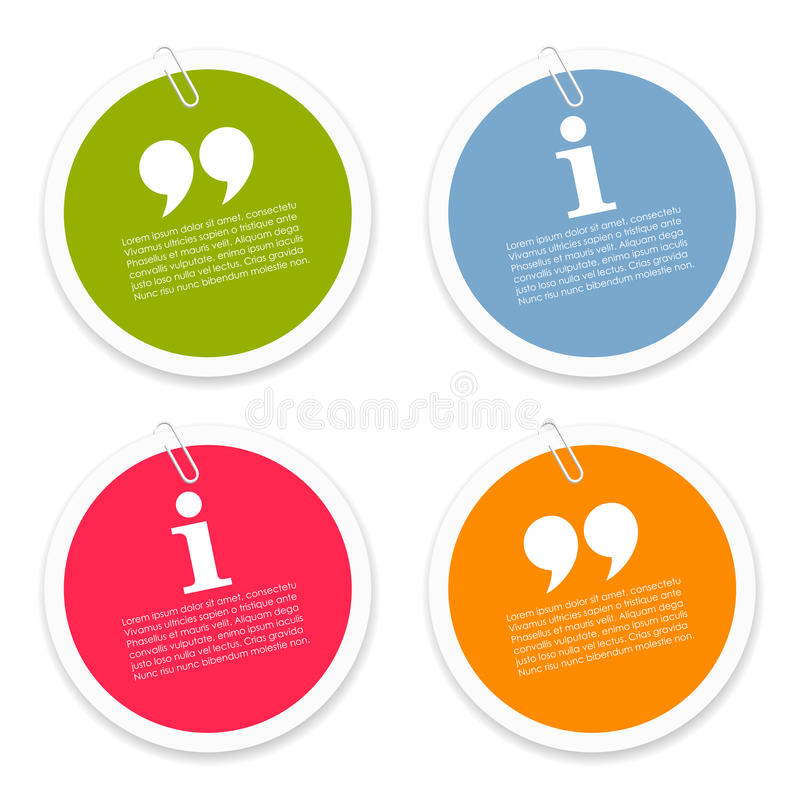 Discussion text labels vector illustration