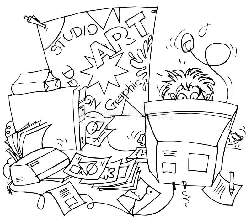 Diseñador stock de ilustración