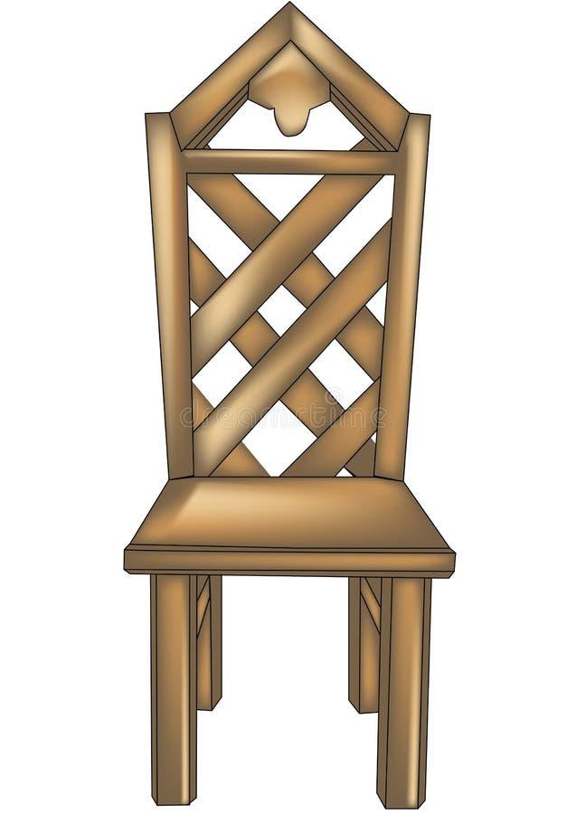Diseñador chair2 stock de ilustración