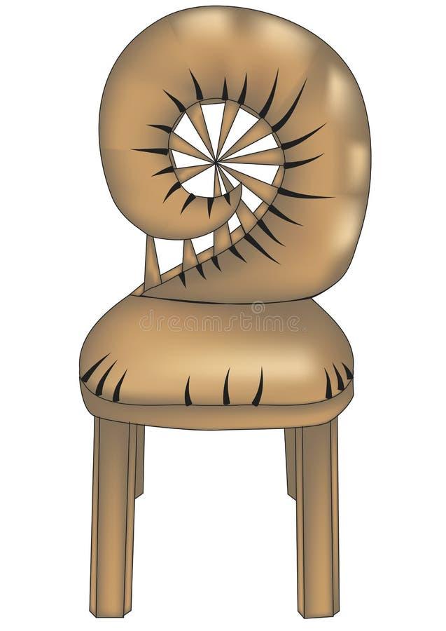 Diseñador chair4 ilustración del vector