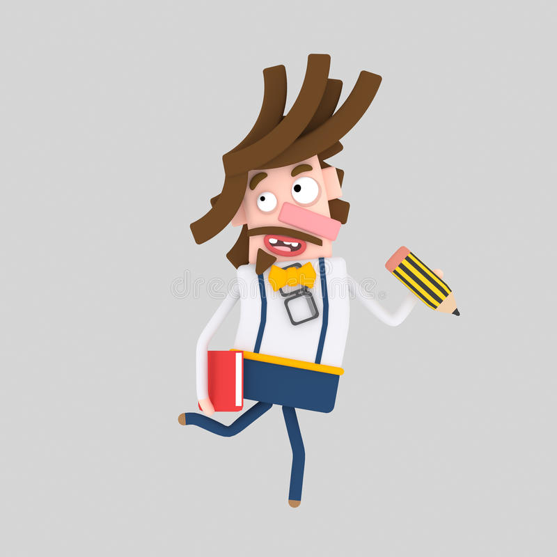 Diseñador creativo libre illustration