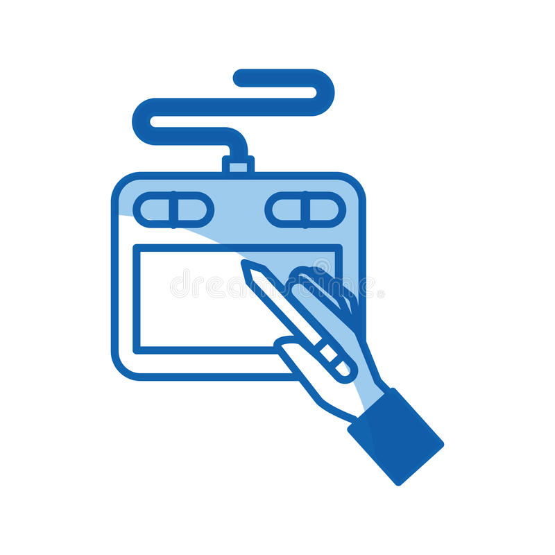 Diseñador técnico del aprendiz libre illustration