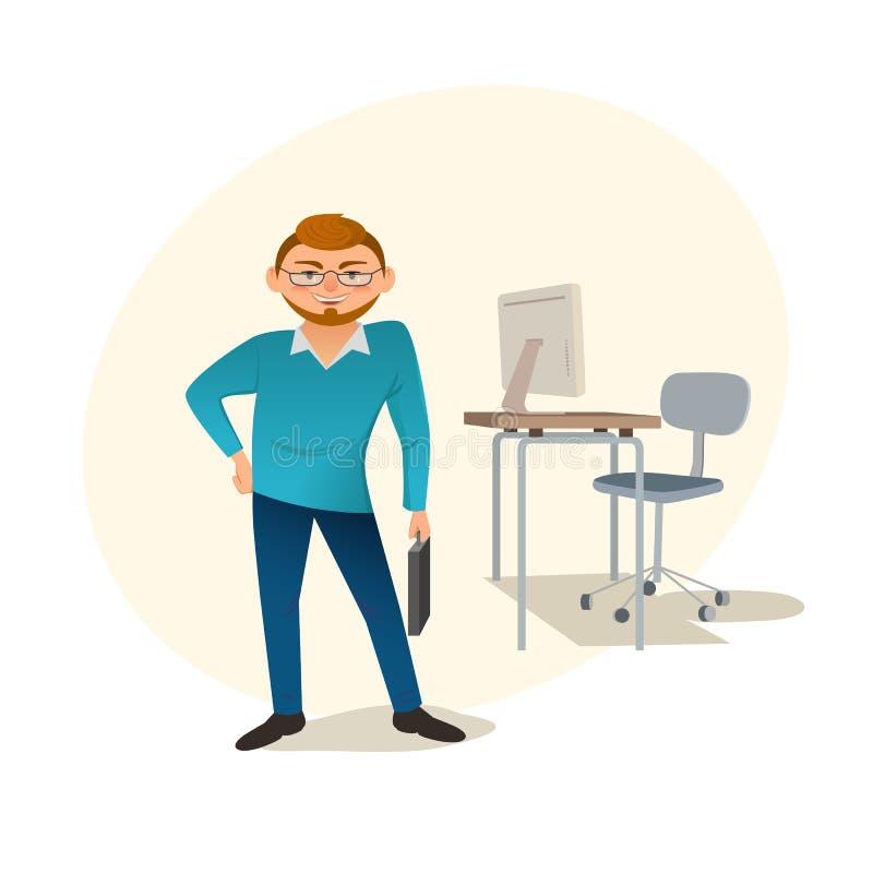 Diseñador web creativo stock de ilustración