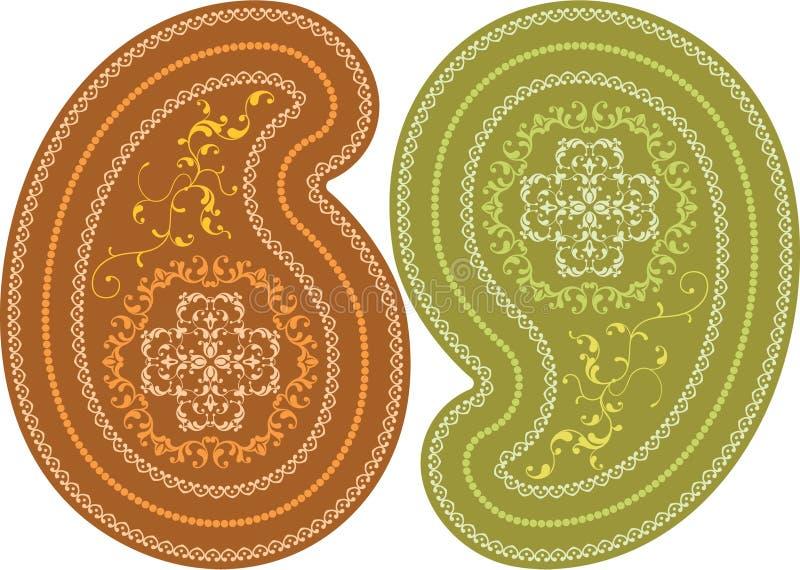 Diseño 005 de la flor stock de ilustración