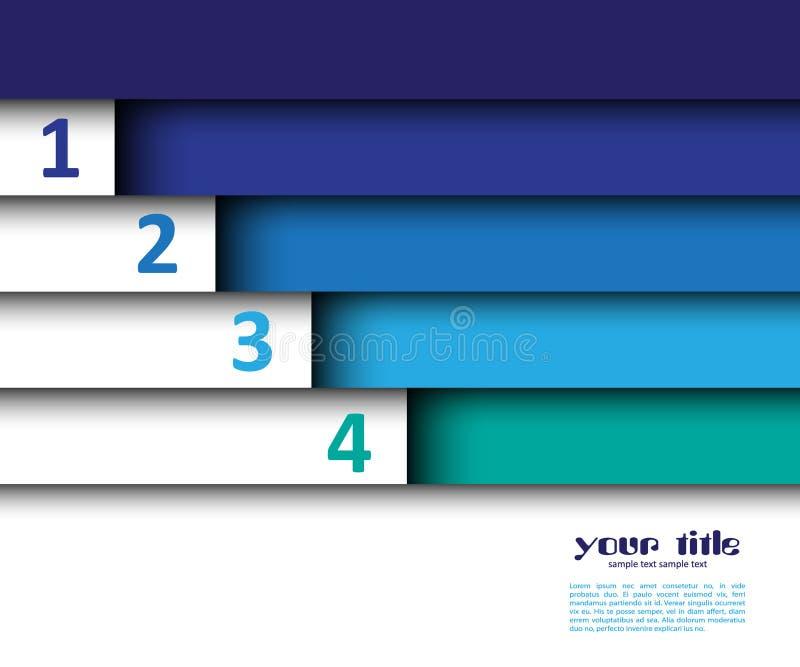 diseño 3d con las banderas del color stock de ilustración