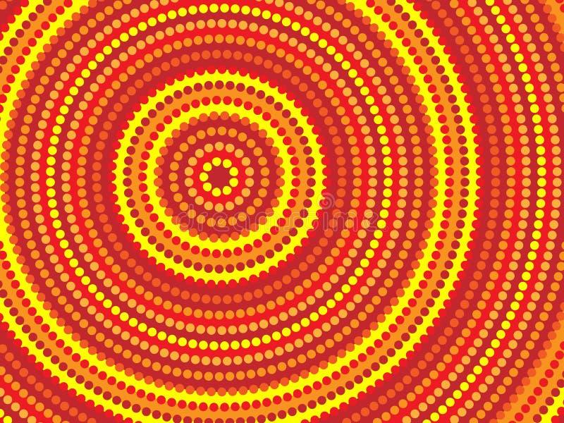Diseño aborigen stock de ilustración