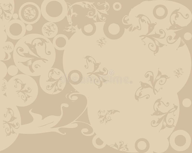Diseño abstracto stock de ilustración
