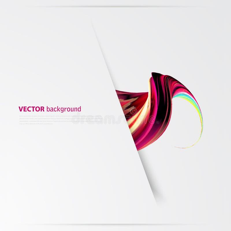 Diseño abstracto corporativo del logotipo del vector del negocio stock de ilustración