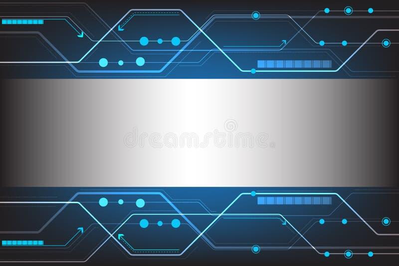 Diseño abstracto de la tecnología del vector libre illustration