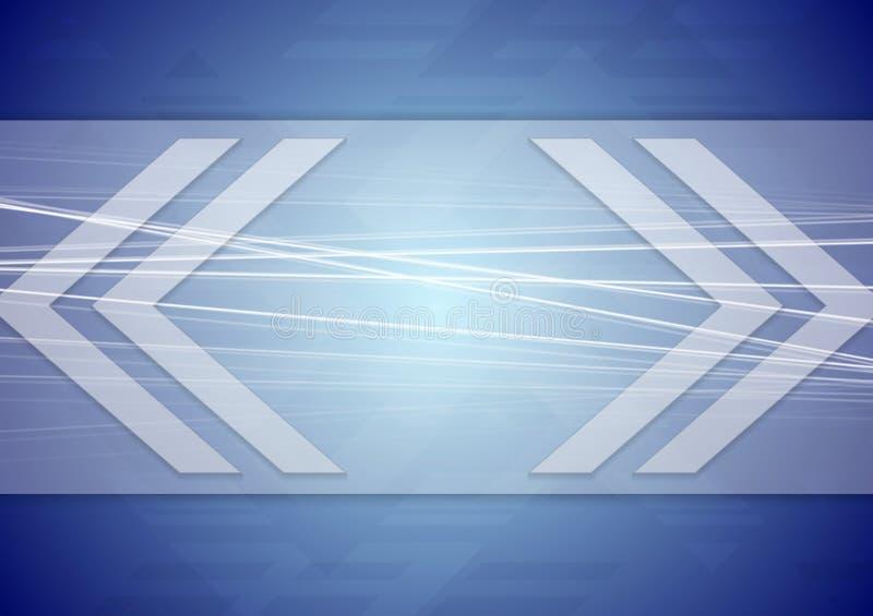 Download Diseño Abstracto De Las Flechas De La Tecnología Ilustración del Vector - Ilustración de gradiente, concepto: 41916407