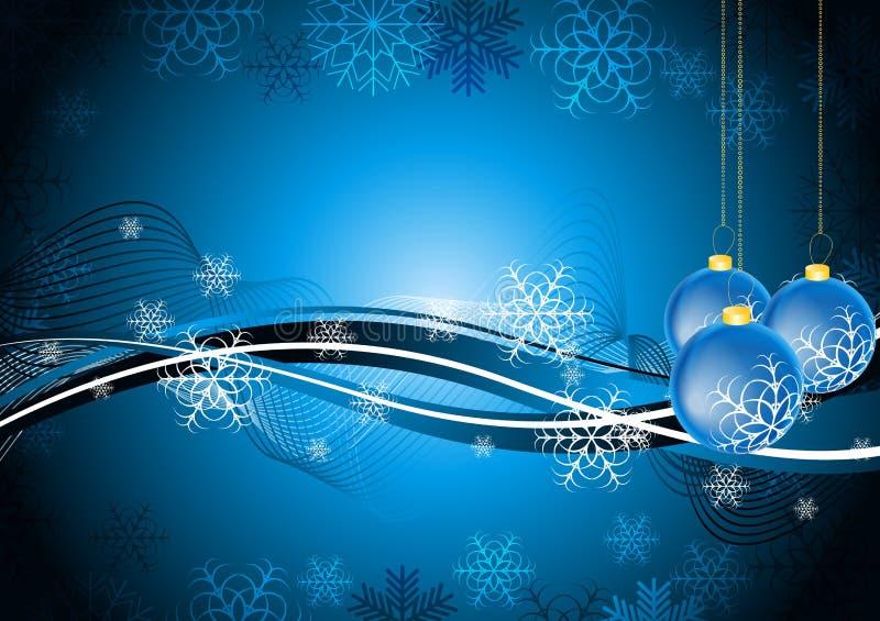 Diseño abstracto de Navidad ilustración del vector