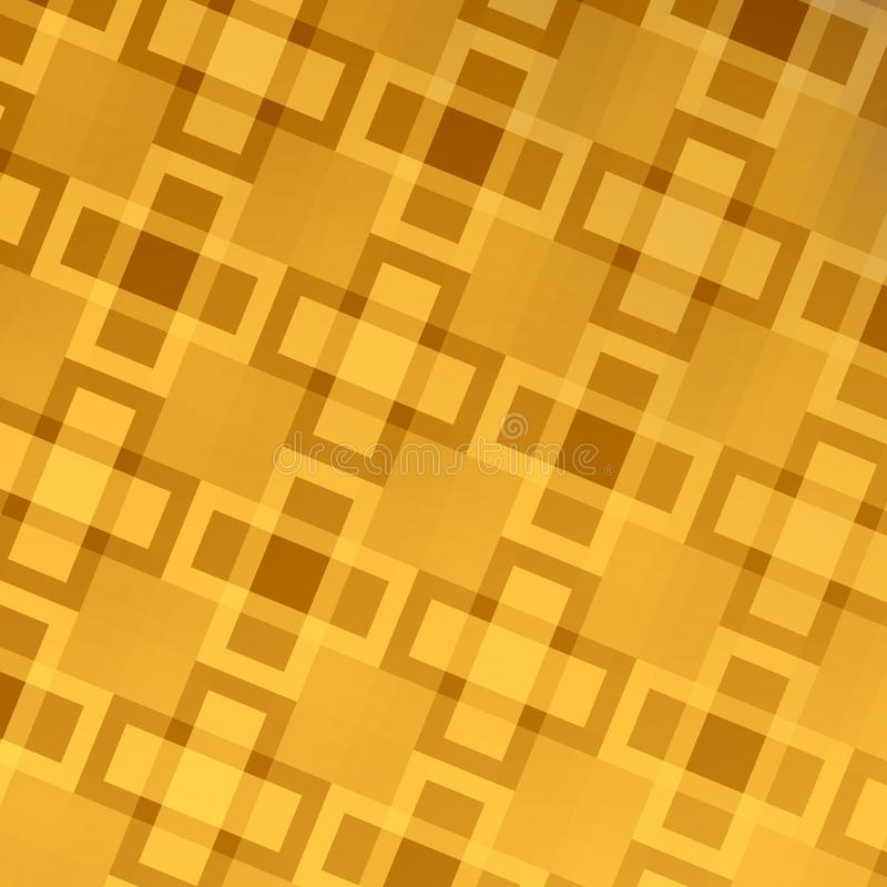 Diseño abstracto de oro del fondo del web - modelo stock de ilustración