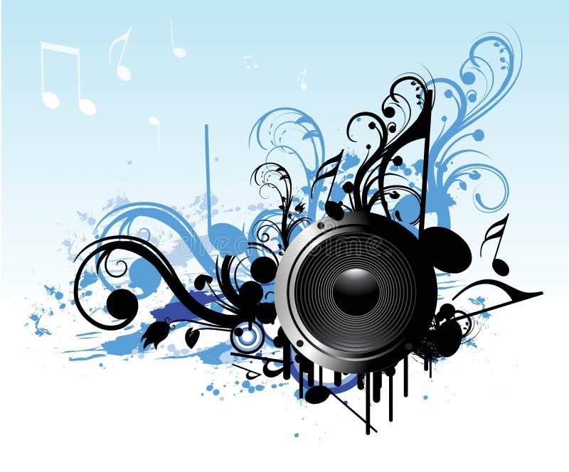 dise o abstracto del altavoz de la m sica ilustraci n del On altavoz de musica