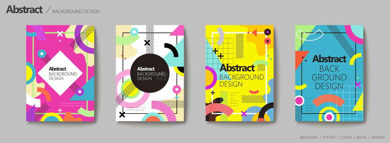 Diseño abstracto del fondo ilustración del vector