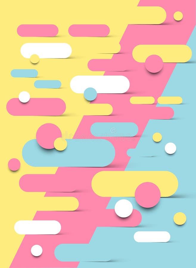 Diseño abstracto del fondo libre illustration