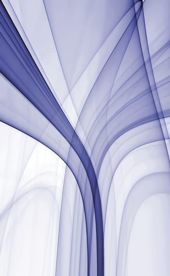 Diseño abstracto del fractal stock de ilustración
