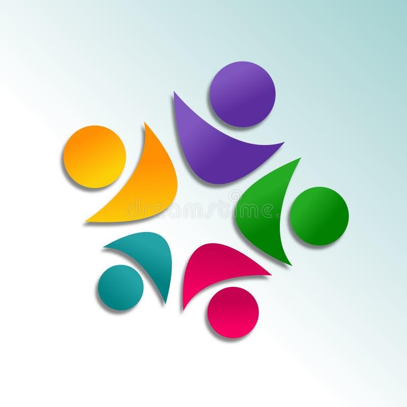 Diseño Abstracto Del Logotipo Foto de archivo