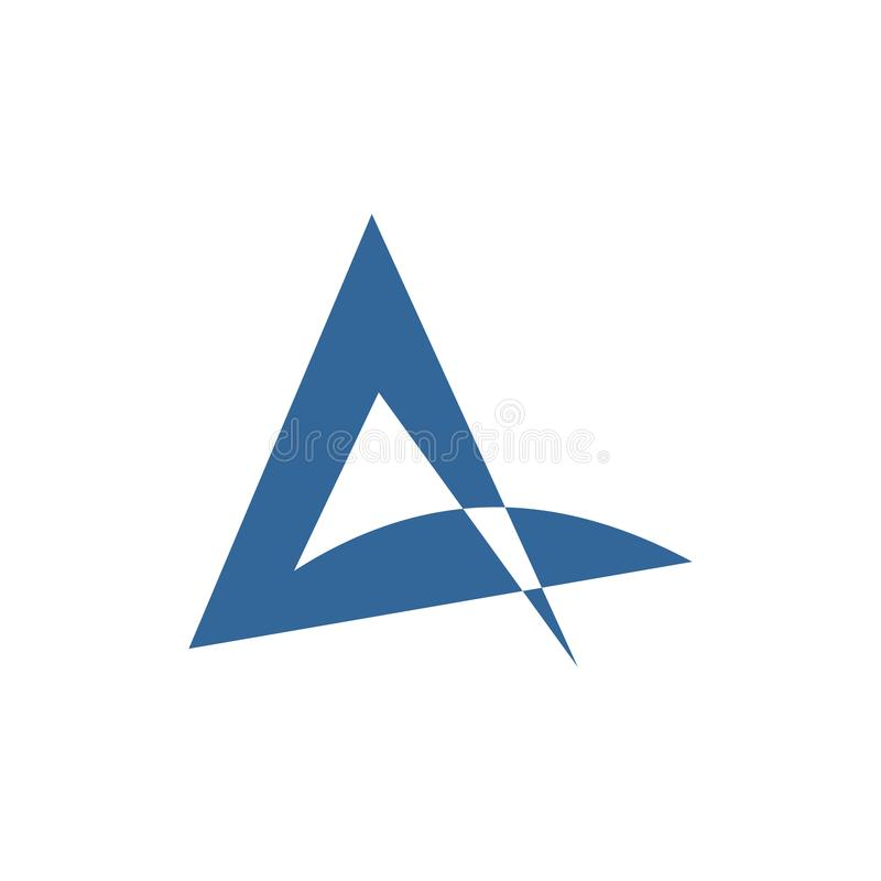 Diseño abstracto del logotipo del vector para el negocio, compañía, naturaleza, jardines Ilustración del vector libre illustration