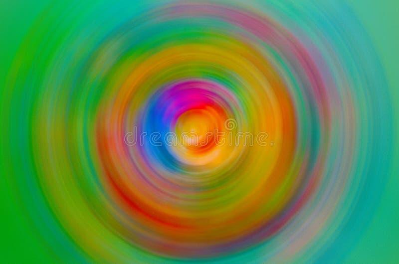 Diseño abstracto hecho de textura de la pintura y de los ricos del fractal a propósito de la imaginación, de la creatividad y del fotografía de archivo