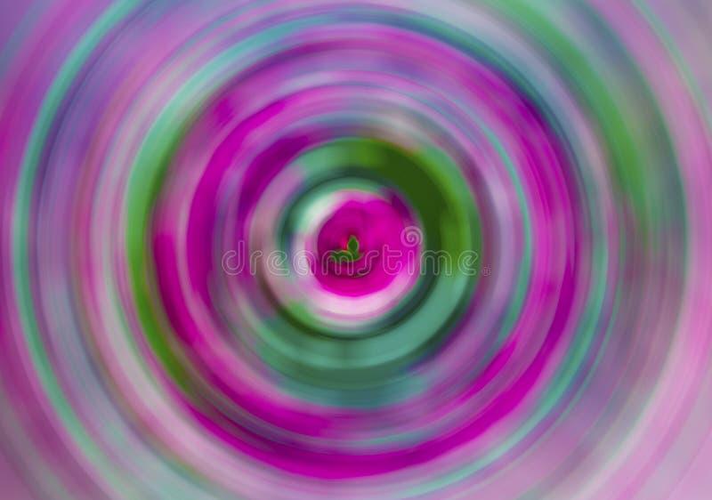 Diseño abstracto hecho de textura de la pintura y de los ricos del fractal a propósito de la imaginación, de la creatividad y del fotografía de archivo libre de regalías