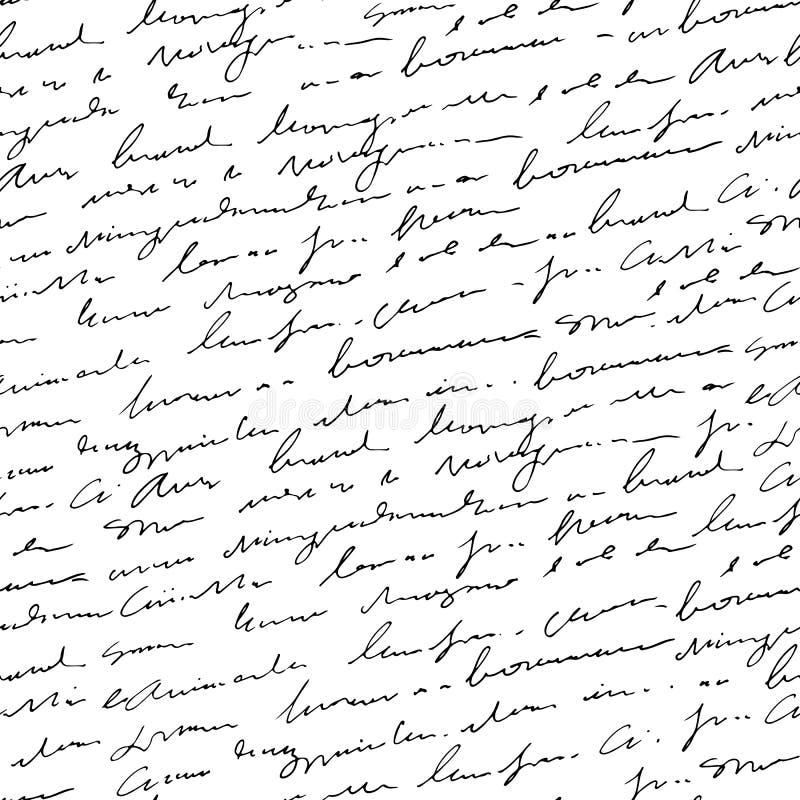 Diseño abstracto manuscrito sin problemas libre illustration