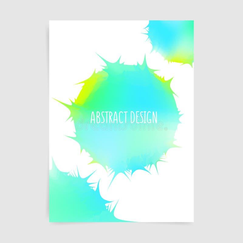 Diseño agudo abstracto libre illustration