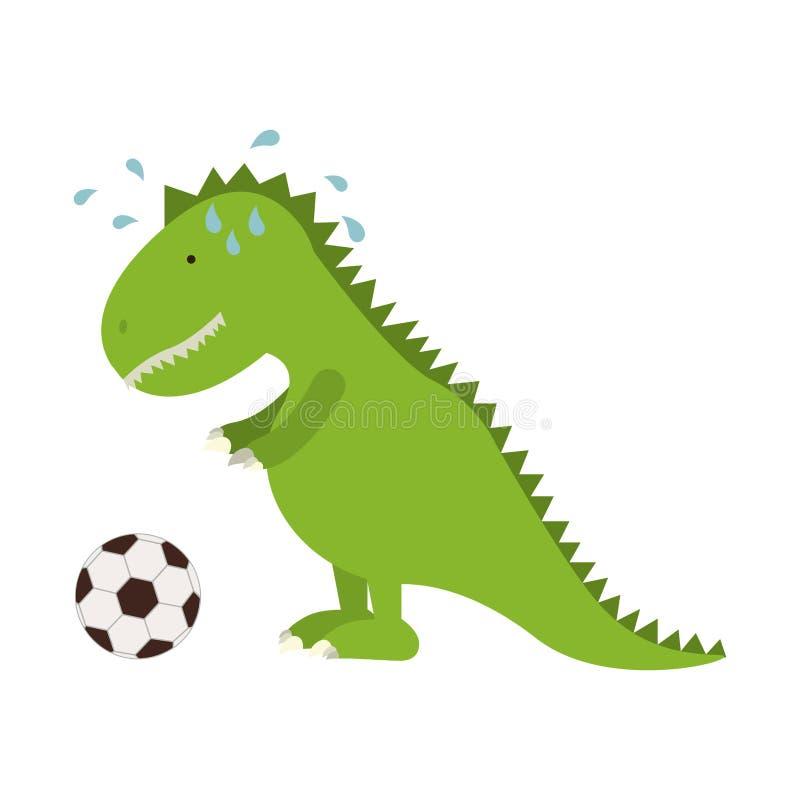 Diseño aislado del dinosaurio del juguete ilustración del vector