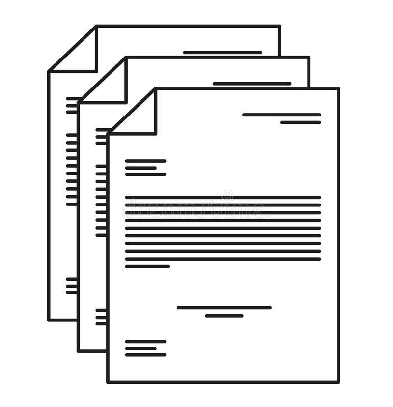 Diseño aislado del trozo de papel ilustración del vector