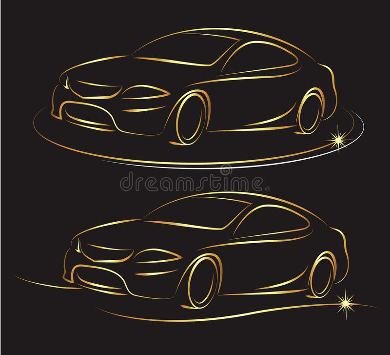 Diseño auto libre illustration