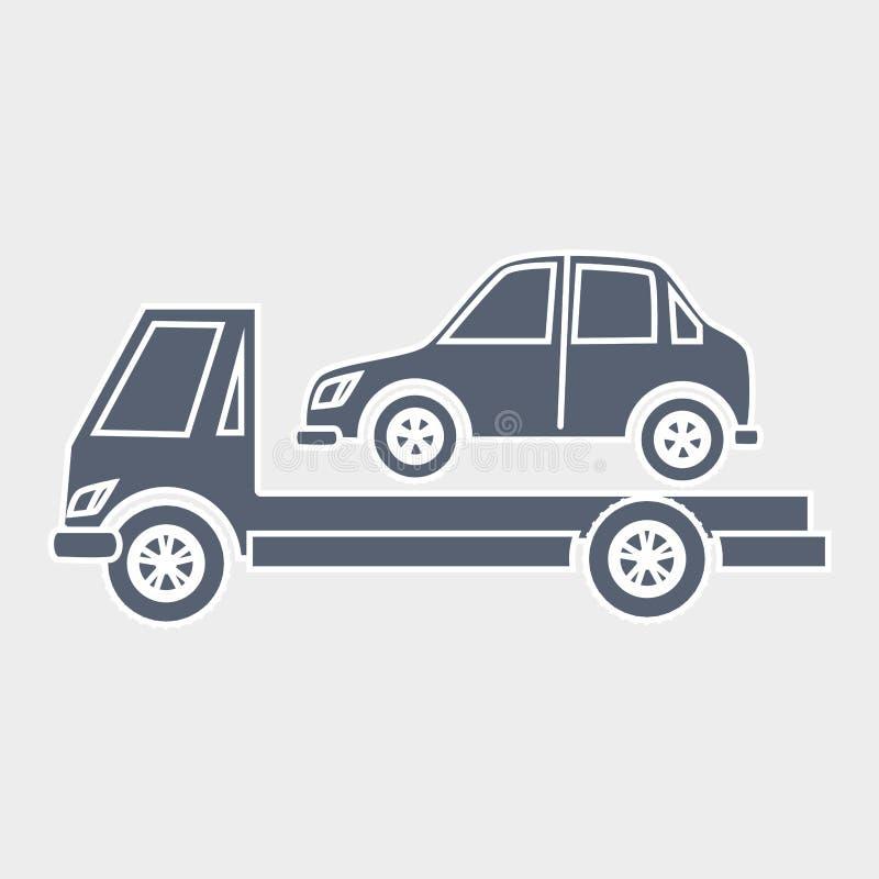 Diseño auto del servicio ilustración del vector