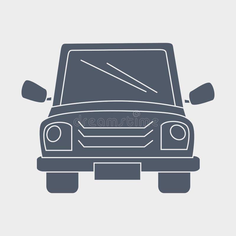 Diseño auto del servicio stock de ilustración