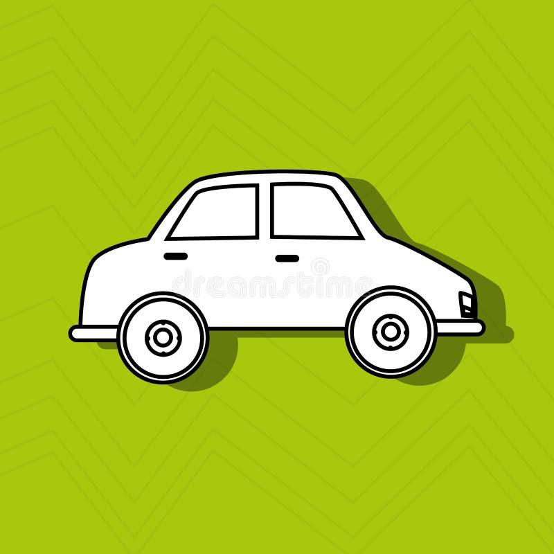 Diseño auto del servicio libre illustration