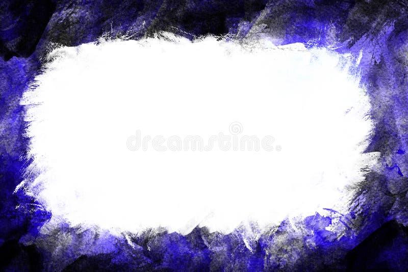 Diseño azul y negro de la frontera libre illustration