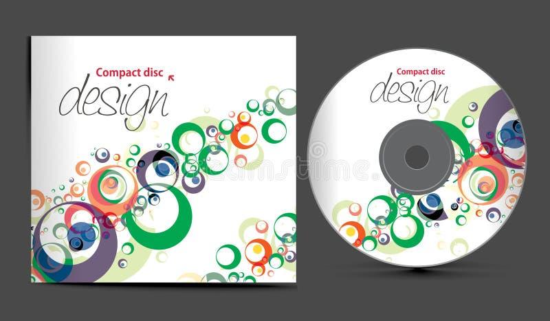 Diseño Cd de la cubierta stock de ilustración