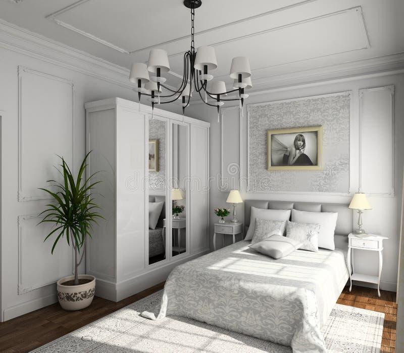 Diseño clásico de interior imagen de archivo