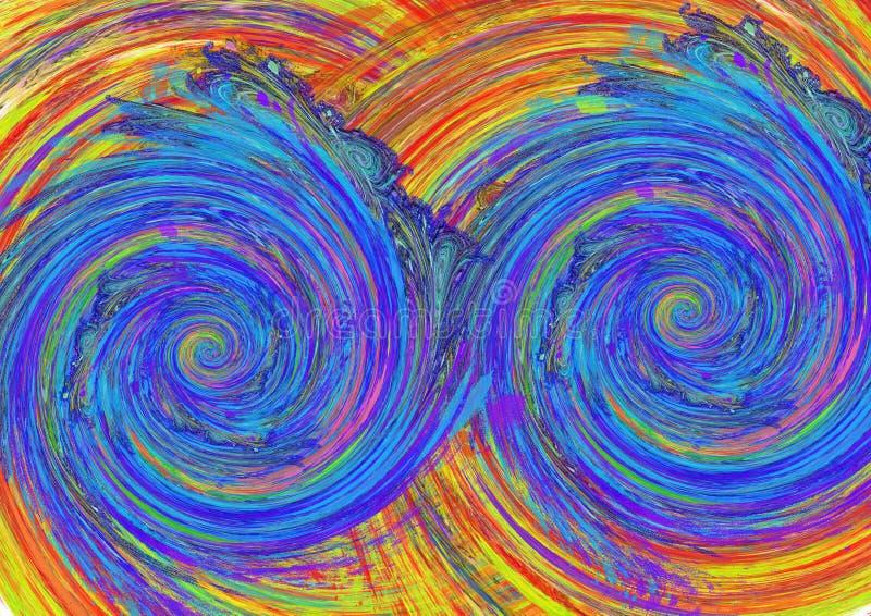 Diseño colorido abstracto del fondo del modelo Diseño y cartes cadeaux de la tarjeta de felicitación libre illustration