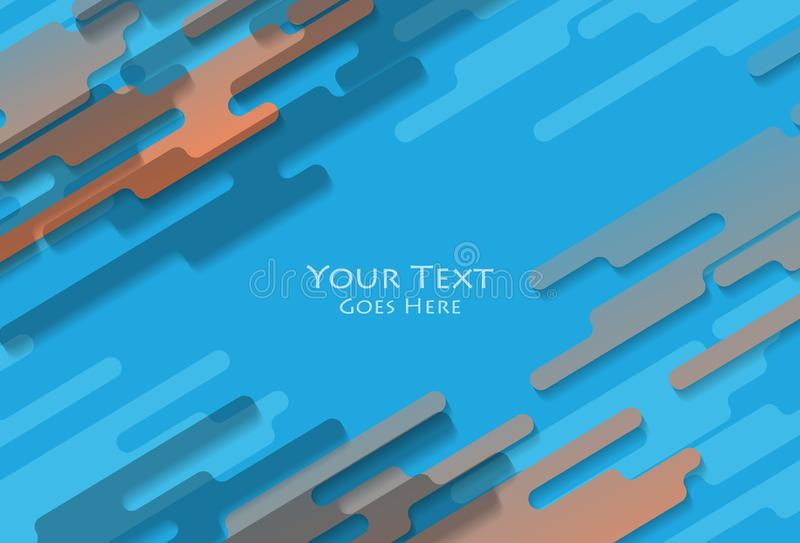 Diseño colorido de la cubierta ilustración del vector