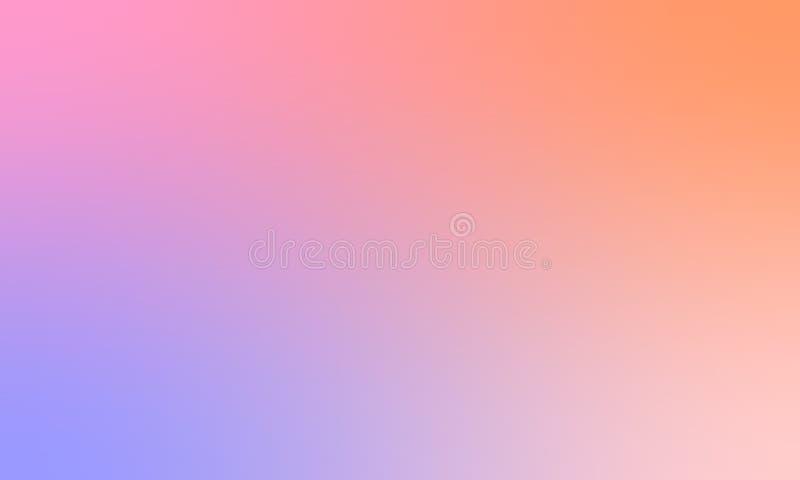 Diseño colorido del vector del fondo de la textura de la falta de definición, fondo sombreado borroso colorido, ejemplo vivo del  fotos de archivo