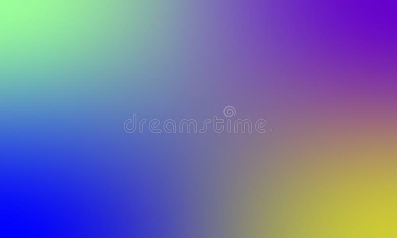 Diseño colorido del vector del fondo de la textura de la falta de definición, fondo sombreado borroso colorido, ejemplo vivo del  imagen de archivo libre de regalías
